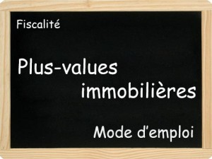 plus value immobiliere